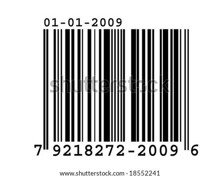 Barcode - stock photo
