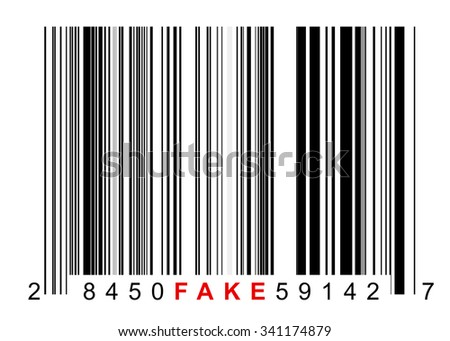 Barcode for identifying all kinds of fake goods