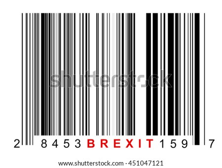 Barcode for identifying all things of Brexit