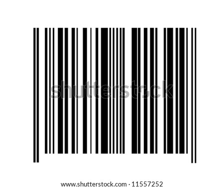BARCODE / NO NUMBERS - stock photo