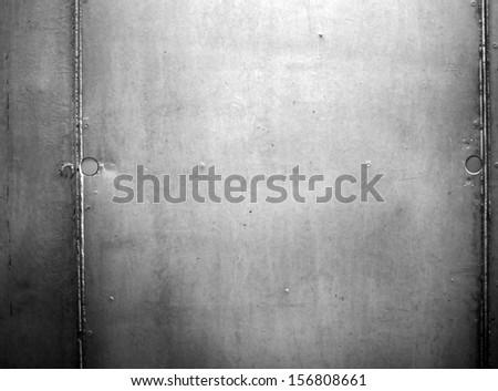Bare concrete wall texture - stock photo