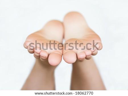 Bare Feet - stock photo
