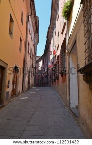Barga, Tuscany, Italy - stock photo