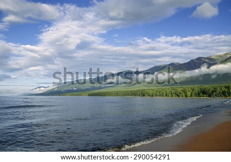Barguzinsky Bay of Lake Baikal
