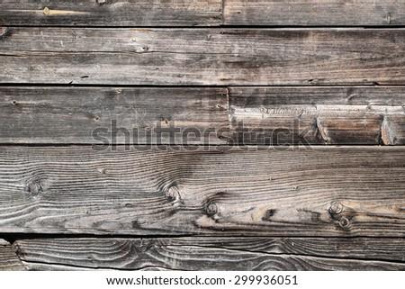 Barn wood background - stock photo