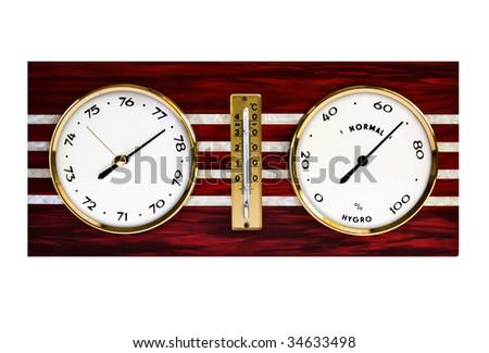 Barometer - stock photo