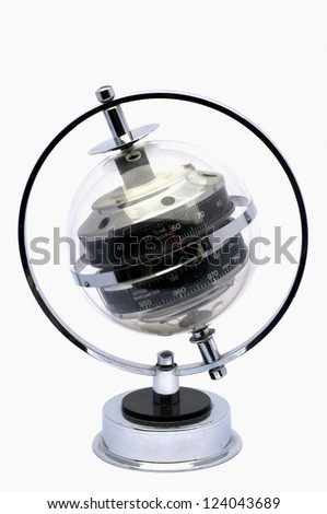 barometer / hygrometer - stock photo