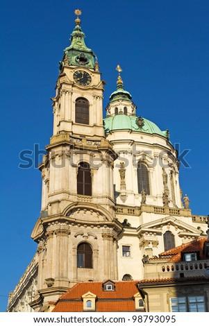 Baroque church - stock photo