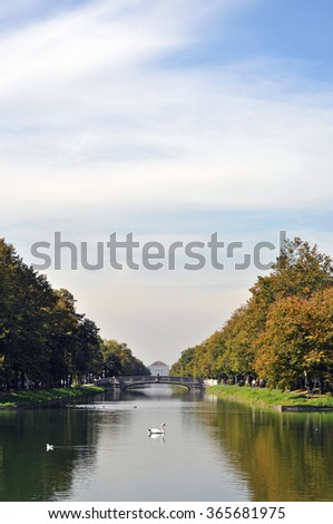 Baroque Palace and Canal