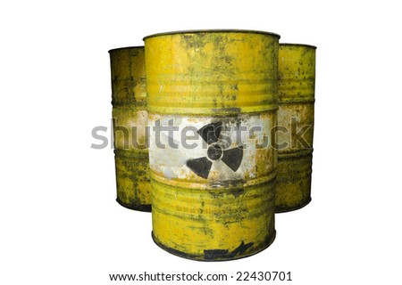 barrel, dirty group of barrel - stock photo