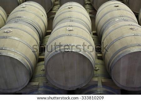 Barrels - stock photo