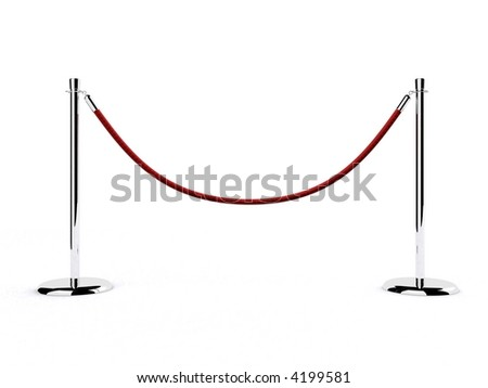 barrier - stock photo