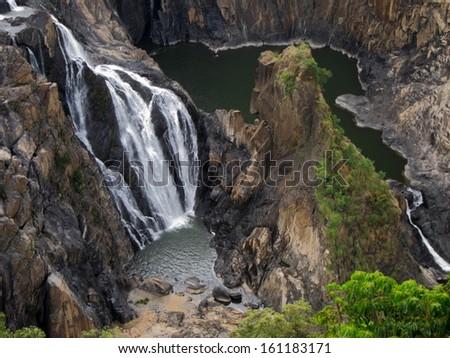 Barron Falls, Queensland - stock photo