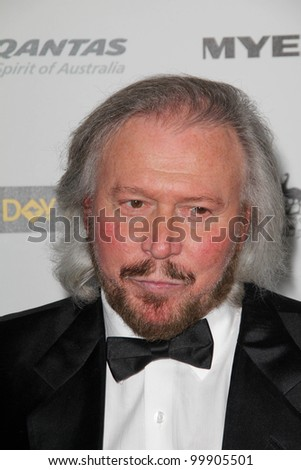 Barry Gibb at the G'Day USA Australia Week 2011 Black Tie Gala, Hollywood Palladium, Hollywood, CA. 01-22-1