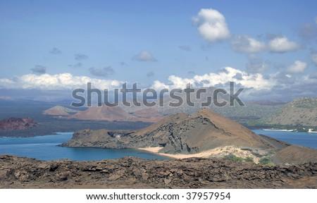 Bartalome Island, Galapagos - stock photo