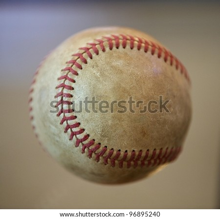 base ball flight - stock photo