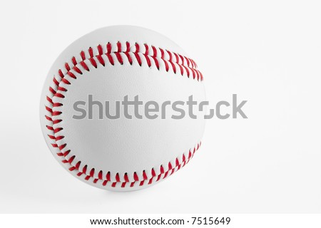 Base Ball with soft shadow