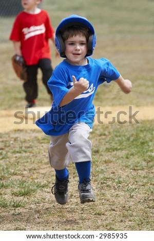 base runner - stock photo