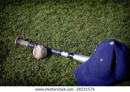 Baseball Background - stock photo