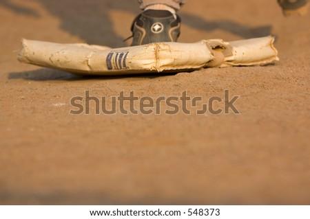 Baseball bag - stock photo