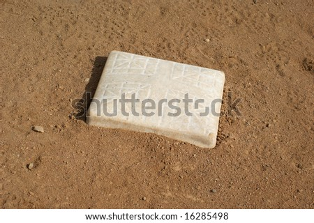 Baseball Base - stock photo