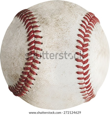 Baseball, Baseballs, Dirty. - stock photo