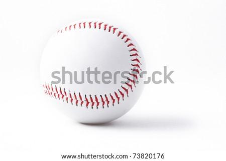 Baseball, Baseballs, Sport, Isolated, Sports Equipment, Seam, Circle, Sphere, Equipment, baseball isolated, New, fastball - stock photo