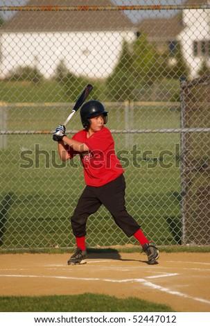 Baseball batter - stock photo