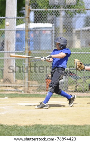 Baseball batter - stock photo