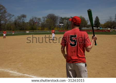 Baseball Coach - stock photo