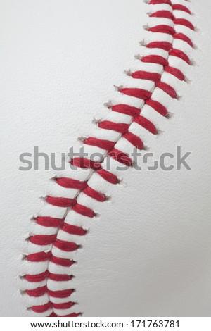 Baseball detail - stock photo