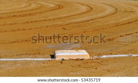 Baseball field - stock photo