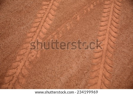 baseball field sand and practice field
