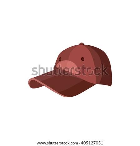 Baseball hat icon - stock photo