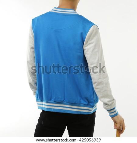 Baseball jacket - stock photo
