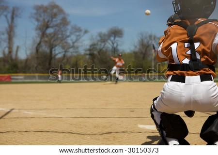 Baseball Pitch - stock photo