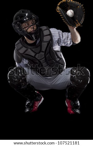 Baseball Player, Catcher