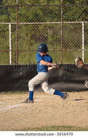 Baseball Strike! - stock photo