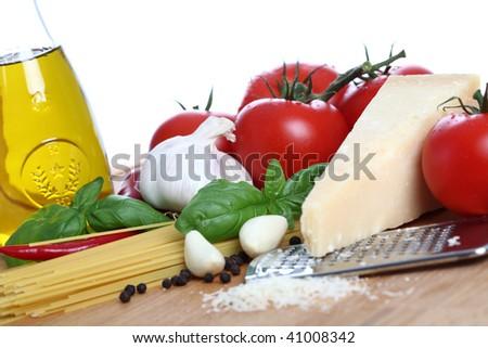 Basic Pasta - stock photo