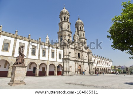 Basilica de Zapopan, Jalisco, Mexico - stock photo