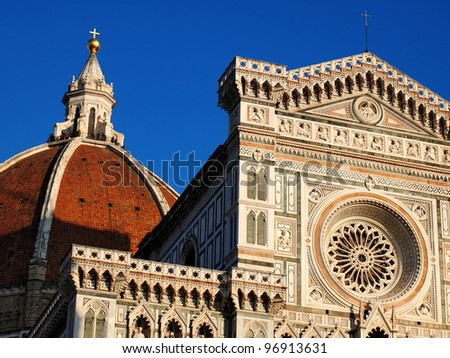 Basilica Detail, Florence, Italy