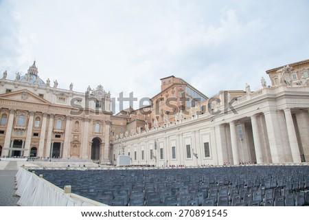 Basilica di San Pietro, Vaticano, Roma, Italia - stock photo