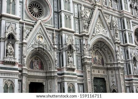 Basilica of Santa Maria del Fiore, Florence ,Italy  - stock photo