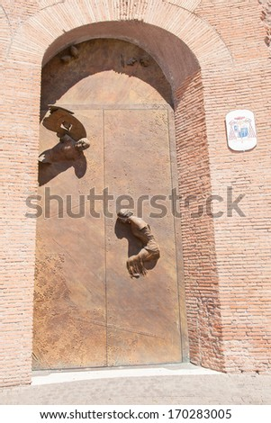 Basilica of St. Mary of the Angels and the Martyrs is a titular basilica church in Rome, built inside the frigidarium of the Baths of Diocletian in the Piazza della Repubblica.