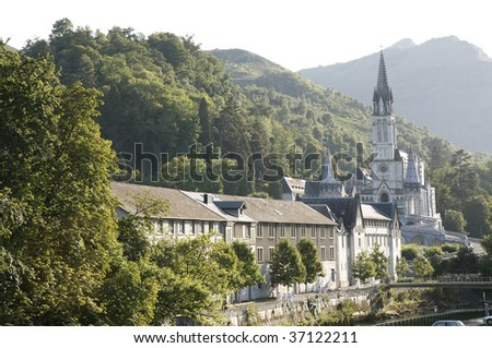 Basilica of the Rosary, Lourdes, France