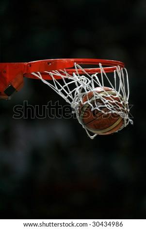 Basket ball - stock photo