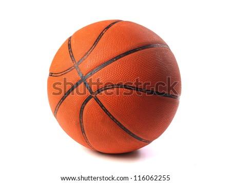 Basket Ball isolated on white background - stock photo