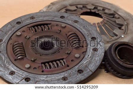 Basket clutch plate disk release bearing old