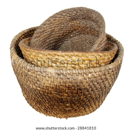 Basket from a bark of a birch