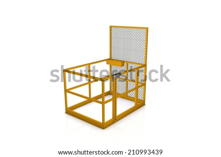 Basket platform - stock photo